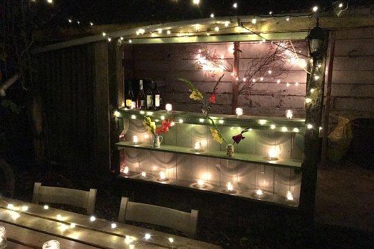Dutch barn wedding venue, rambling rector rose, brook farm